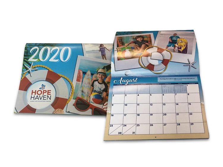 Calendar Printed By Kessler Creative